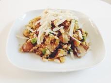Quinoa risotto