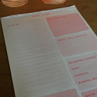 Ik maak graag lijstjes