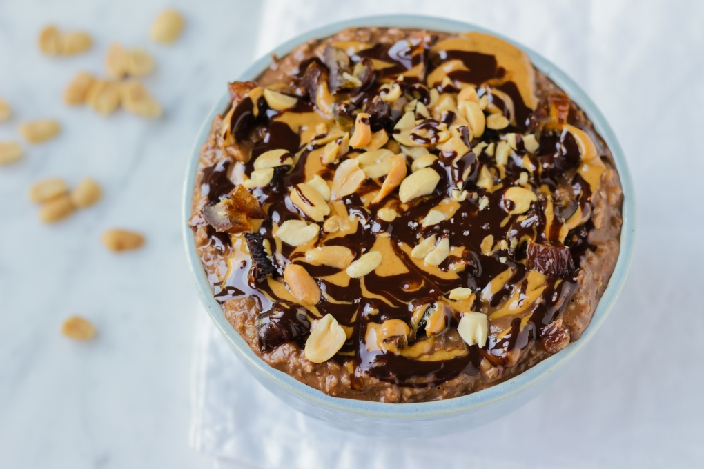snickers-havermout-personal-foodcoaching-vegan